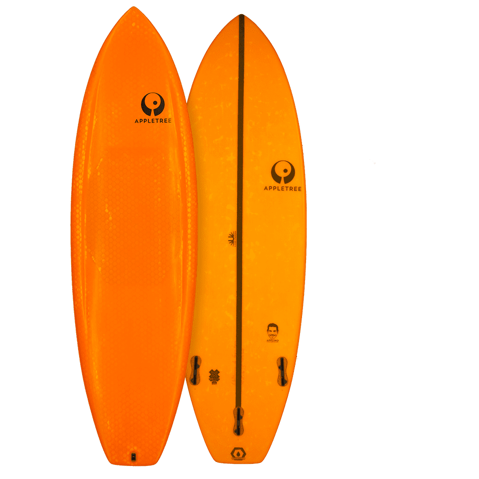 Surf Applino d'Appletree Surfboards Orange vendu par JKS