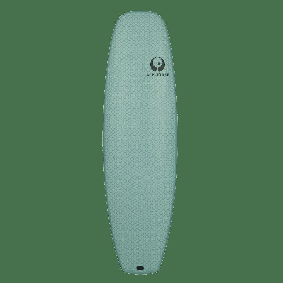 Surf de surfkite Luke'Leaf couleur menthe, le Tomo d'Appletree Surfboard s