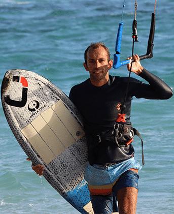 Julien Kerneur, Gérant de JKS-Kitesurf.fr