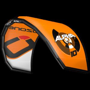 Kites mono latte Alpha V1 orange Ozone kites / jks-kitesurf