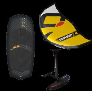 Pack spécial Wing JKS SUPREME PRO/ WASP OZONE / FOIL MOSES par jks-kitesurf