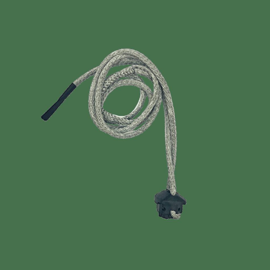 dépower line / clamcleat trim pour barre contact snow ozone kites / jks-kitesurf