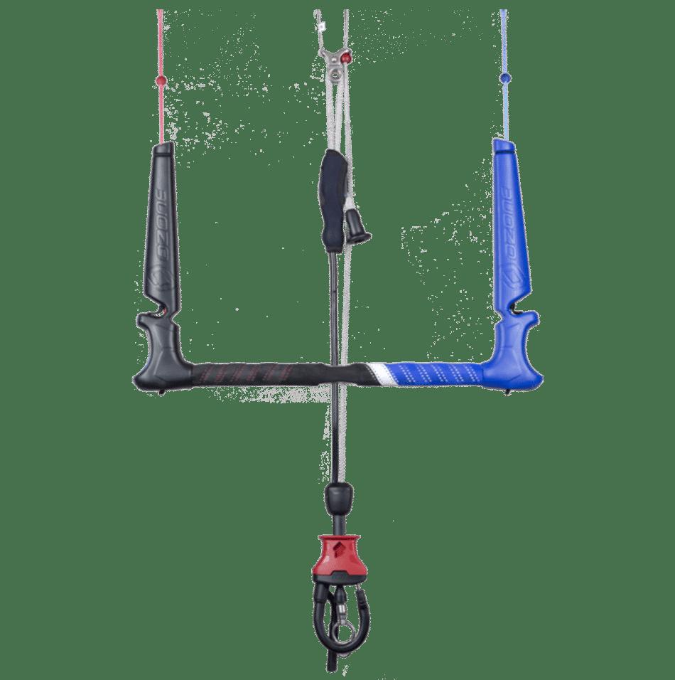 Barre de contrôle Compact V4 d'Ozone Kites / jks-kitesurf