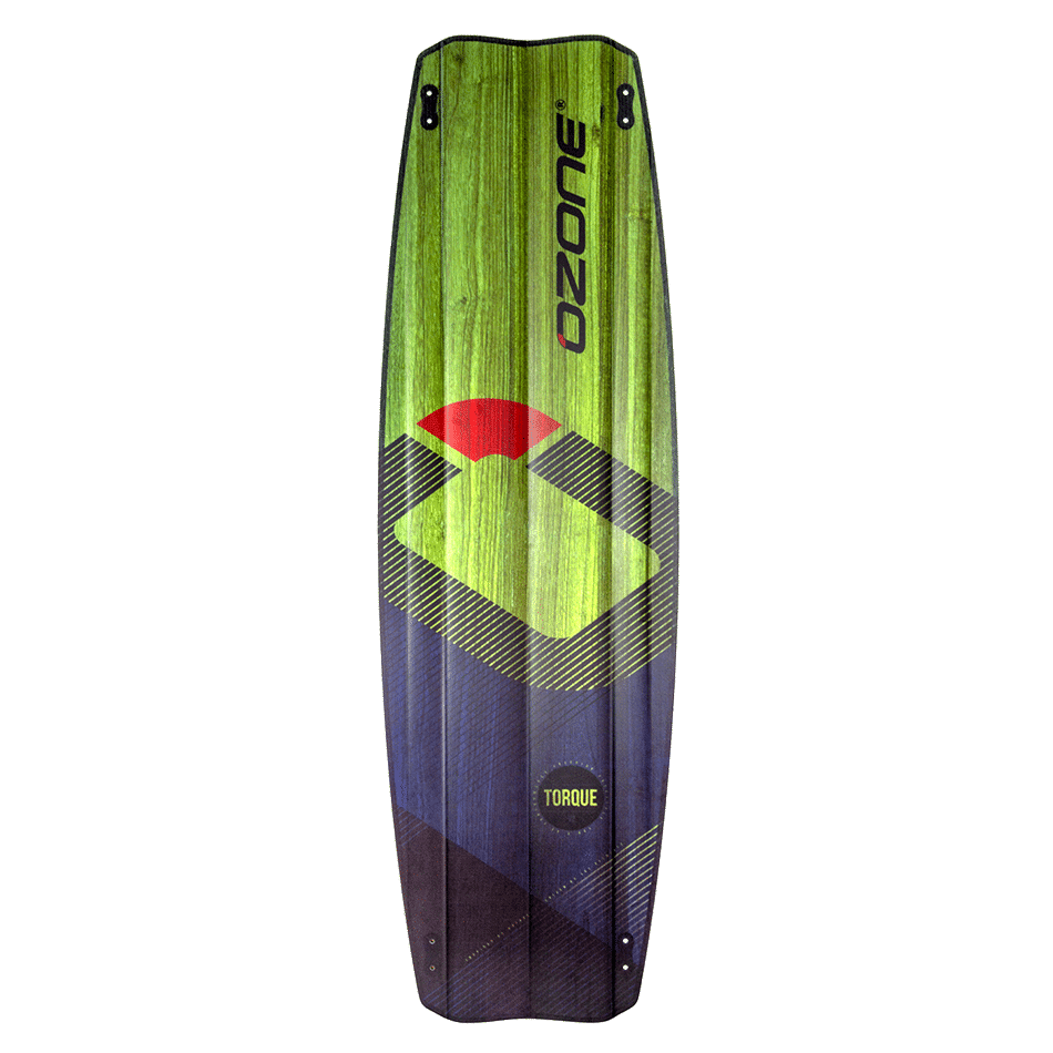 Twintip Ozone Freestyle Torque V2 couleur vert transparent (bottom)- JKS-kitesurf