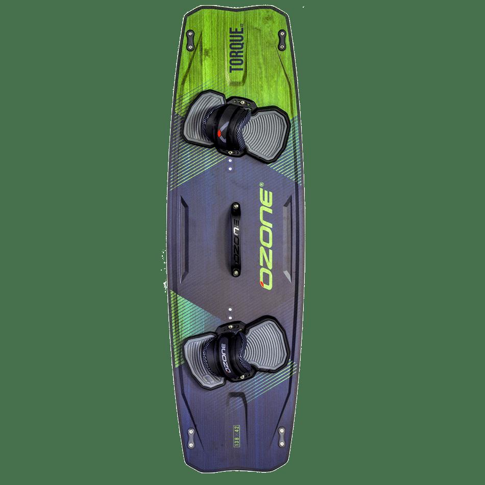 Twintip Ozone Freestyle Torque V2 couleur vert transparent (top)- JKS-kitesurf