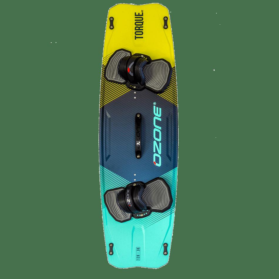 Twintip Ozone Freestyle Torque V2 couleur menthe/jaune (top)- JKS-kitesurf