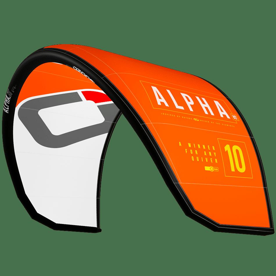 Alpha v2 orange / JKS-kitesurf