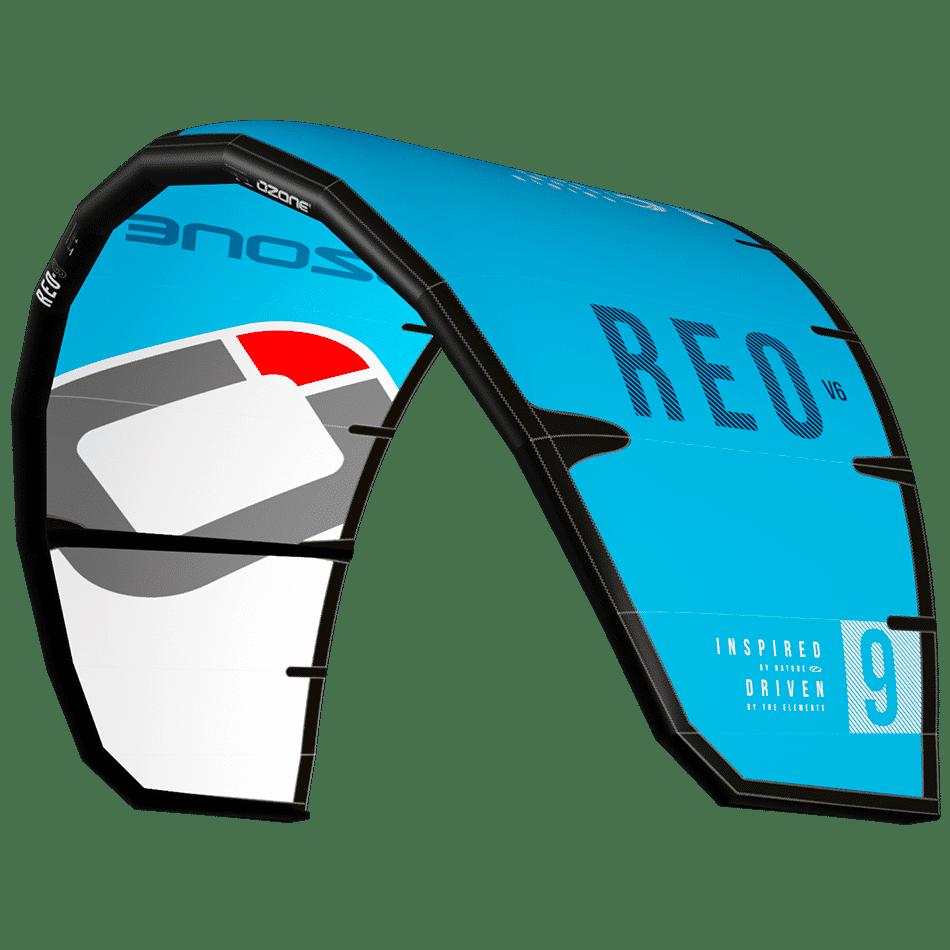 Réo V6 bleu clair Ozone kites / jks-kitesurf